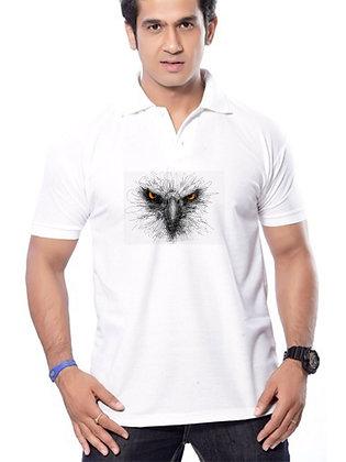 Kite Printed Regular Fit Polo Men's T-shirt
