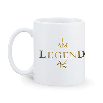 I am Legend Printed Ceramic Coffee Mug 325 ml