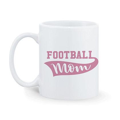 Football Mom-Dad Printed Ceramic Coffee Mug 325 ml