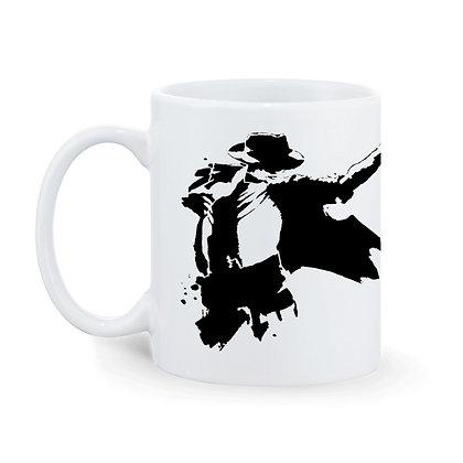 Great Dancer Michael Jackson Printed Ceramic Coffee Mug 325 ml