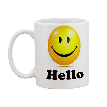 I am ok Printed Ceramic Coffee Mug 325 ml