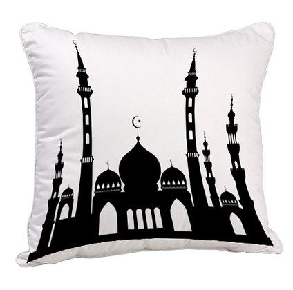 Maszid Satin Cushion Pillow with Filler