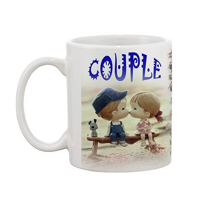 Couple Ceramic Coffee Mug 325 ml