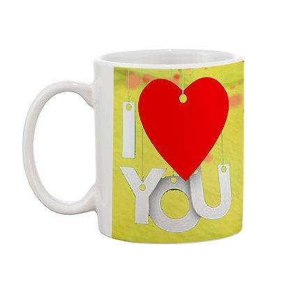 I Love You Ceramic Coffee Mug 325 ml