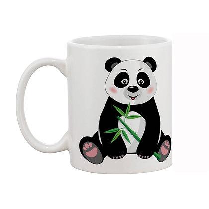 Panda Printed Ceramic Coffee Mug 325