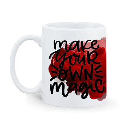 Make Your Own Magic Printed Ceramic Coffee Mug 325 ml
