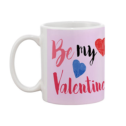 Be My Valentine Printed Ceramic Coffee Mug 325 ml