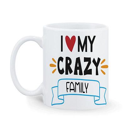 Family is forever Printed Ceramic Coffee Mug 325 ml
