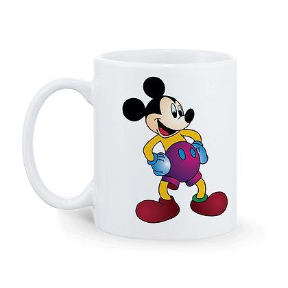 Cartoon Mickey Mouse Ceramic Coffee Mug 325 ml