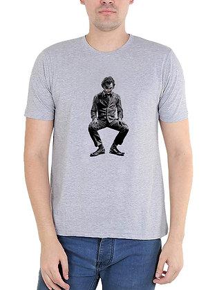Jokar Printed Regular Fit Round Men's T-shirt
