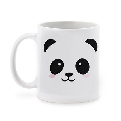 Cartoon Panda Ceramic Coffee Mug 325 ml