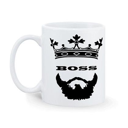 Boss Printed Ceramic Coffee Mug 325 ml