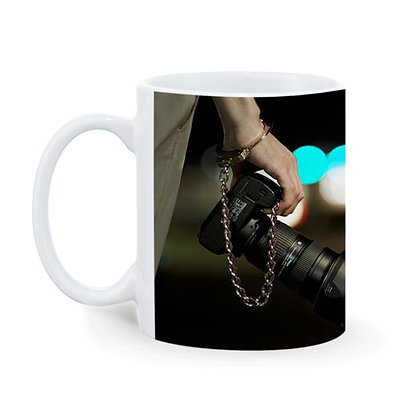 Photography is in my soul Printed Ceramic Coffee Mug 325 ml