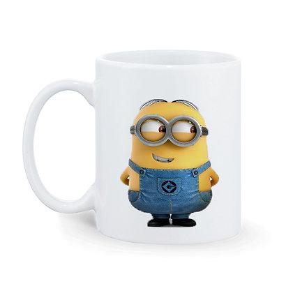 Minions Printed Ceramic Coffee Mug 325 ml