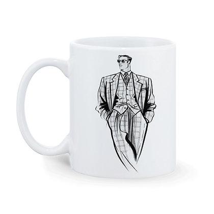 I am Original Printed Ceramic Coffee Mug 325 ml