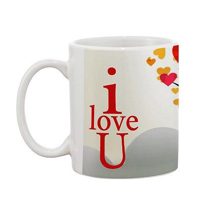 I love you Printed Ceramic Coffee Mug 325 ml