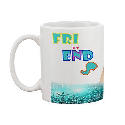 Friends Forever Ceramic Coffee Mug 325 ml