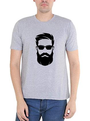 Bread Man Printed Regular Fit Round Men's T-shirt