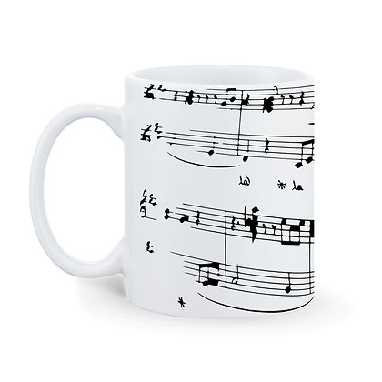 Music Surgam Theme Ceramic Coffee Mug 325 ml