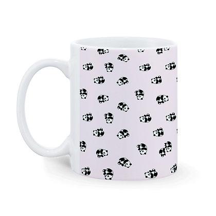Cartoon Cute Panda Pattern Ceramic Coffee Mug 325 ml
