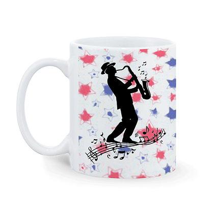 Music is my sanity Printed Ceramic Coffee Mug 325 ml