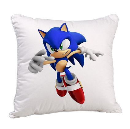 Cartoon Satin Cushion Pillow Cover with Filler