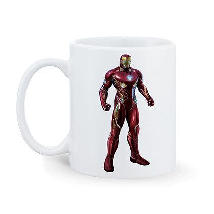 Ironman Printed Ceramic Coffee Mug 325 ml