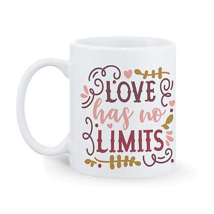 Love Love Printed Ceramic Coffee Mug 325ml