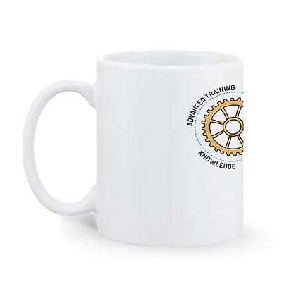 Skill Word Cloud Printed Ceramic Coffee Mug 325 ml