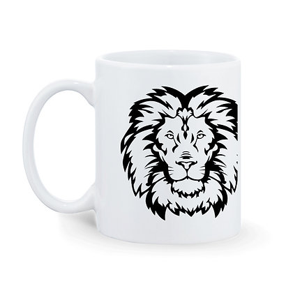 King Printed Ceramic Coffee Mug 325 ml