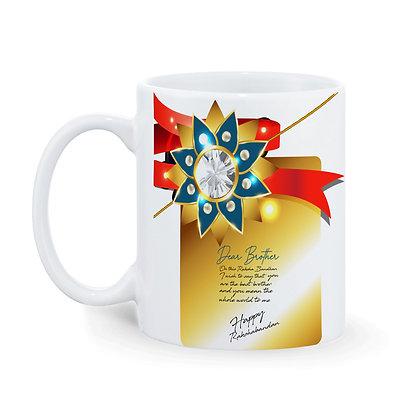 Rakhi Ceramic Coffee Mug 325 ml