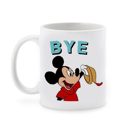 Cartoon Mickey Minnie Ceramic Coffee Mug 325 ml