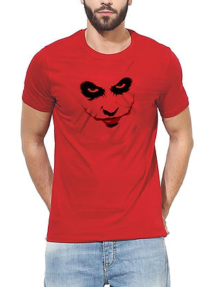 JOKER Printed Regular Fit Round Men's T-shirt