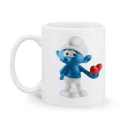 Smurf Boy Printed Ceramic Coffee Mug 325 ml