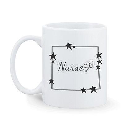 Nurse Printed Ceramic Coffee Mug 325 ml