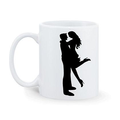 I miss u you so much Printed Ceramic Coffee Mug 325 ml