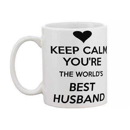Best Husband Printed Ceramic Coffee Mug 325