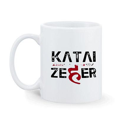 KATAI  ZEHER Printed Ceramic Coffee Mug 325 m