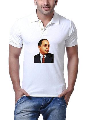 Baba Sahab Printed Regular Fit Polo Men's T-shirt