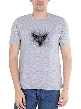 KITE Printed Regular Fit Round Men's T-shirt