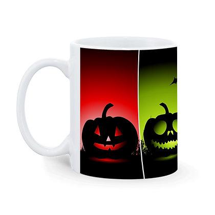 Happy Halloween Pattern Ceramic Coffee Mug 325 ml