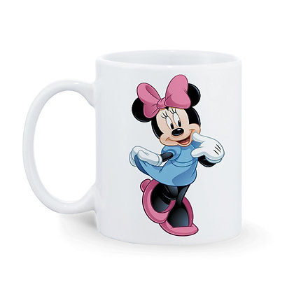 Cartoon Minnie Ceramic Coffee Mug 325 ml