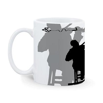 Music Band Ceramic Coffee Mug 325 ml