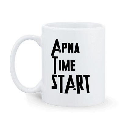 Apna Time Start Ceramic Coffee Mug 325 ml
