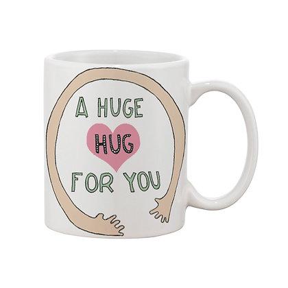 Hug For You Ceramic Coffee Mug 325 ml