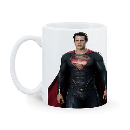 Superman Printed Ceramic Coffee Mug 325 ml