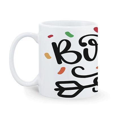 Birthday Squad Printed Ceramic Coffee Mug 325 ml