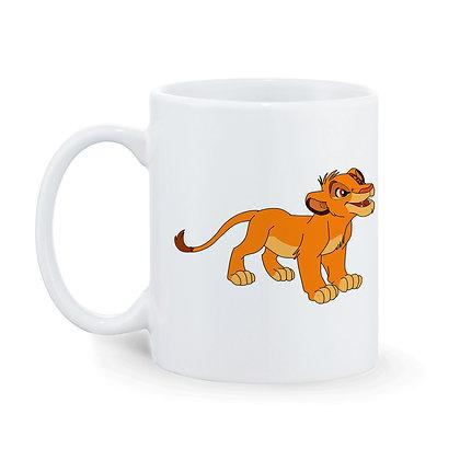 Kid lion Cartoon Printed Ceramic Coffee Mug 325 ml