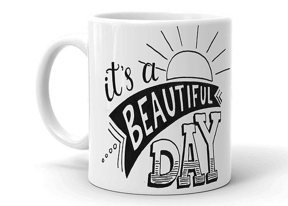 Believe Printed Ceramic Coffee Mug 325 ml