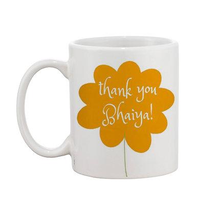 Thank You Printed Ceramic Coffee Mug 325 ml